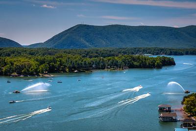 Smith Mountain Lake 2014 - Card Stops