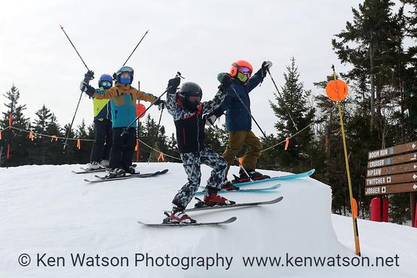 2021-02-18 Loon Skiing