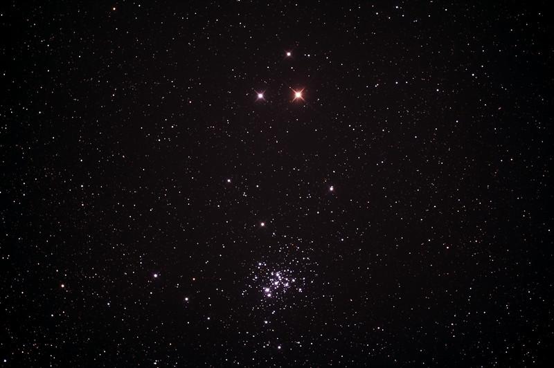 Caldwell C76 - NGC6242 - False Comet Cluster near Zeta Scorpii - 23/6/2015 (Processed stack)