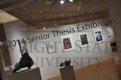 13432 Senior Art Show in the Stein Galleries for Newsroom 4-16-14