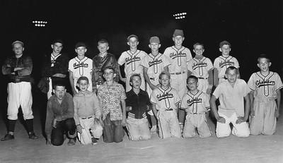 Chadron Ward Baseball award recipients