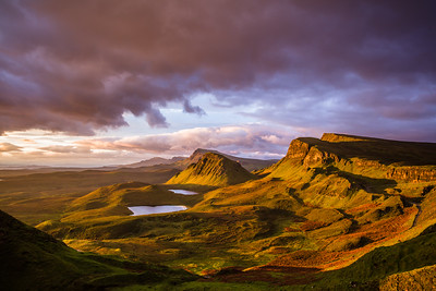 The Quiraing in morning light