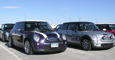Rick & Wendy's purple haze MINI Cooper S was only of two in that color found this weekend! The other was a local MINI with most of the same features.