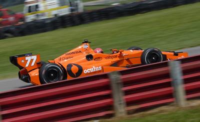 Indycar Practice @ Mid-Ohio - 1 Aug. '14