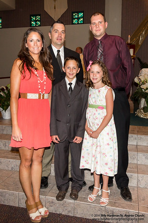 2014 Confirmation and First Eucharist (Group1)