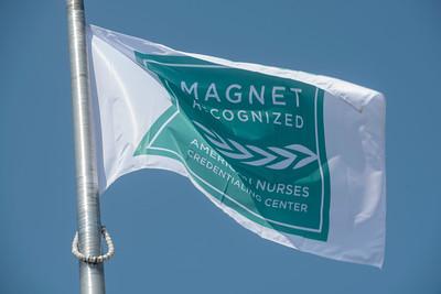 HFH Magnet Flag Raising