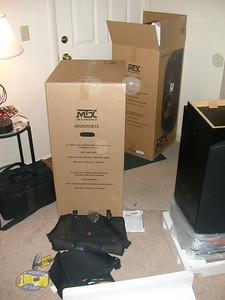20031121 Around shop, snowstorm, apartment