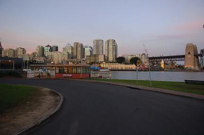 Sydney Harbour Bridge Evening