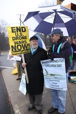 CIA Drone Vigil 1/11/14