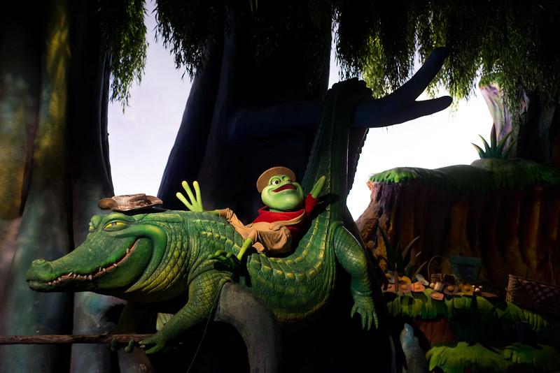 Splash Mountain Frog & Alligator - Magic Kingdom Walt Disney World