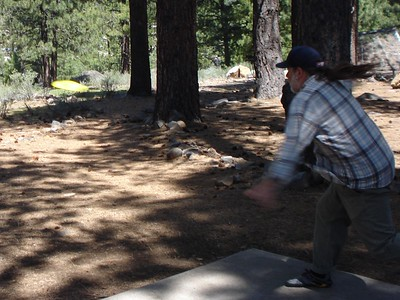Disc Golf - Truckee 05-12-2016
