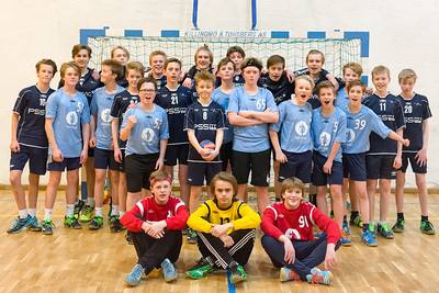 Lagbilder Handball Mars 2017