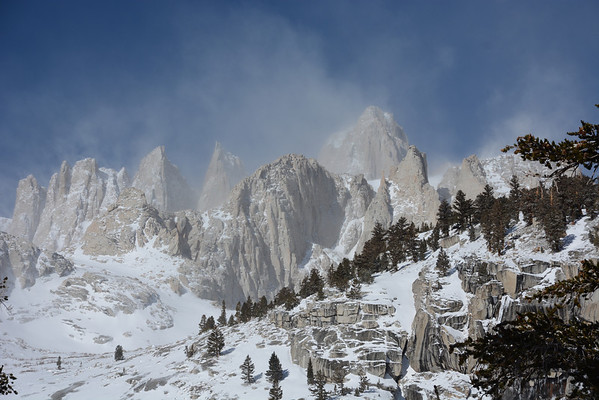 Mt Whitney March 29-30, 2014