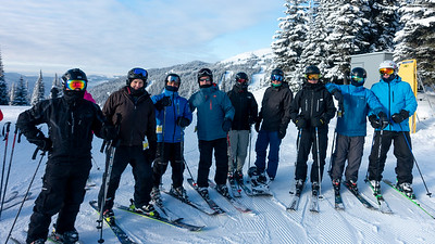 Skiing with the Boys