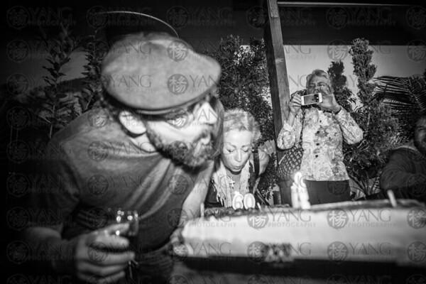 Birthday celebration at the Cinema
