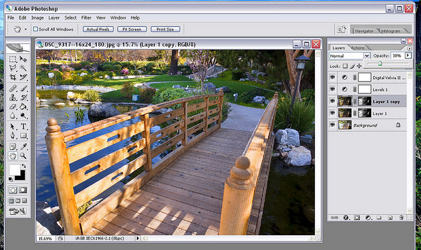Advanced Photoshop:  Merging Bracketed Exposures