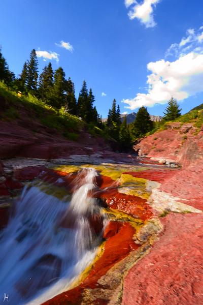 Red Rock Canyon Waterton Provincial Park, Alberta