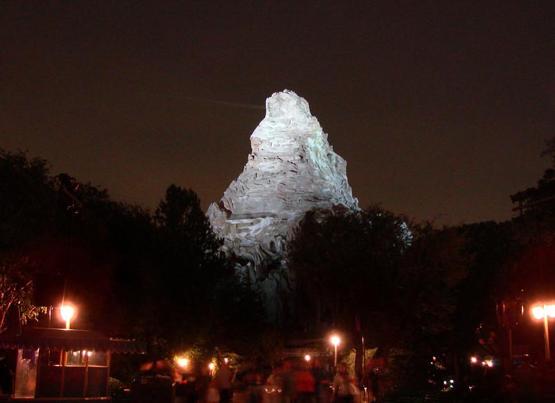 The Disney Matterhorn