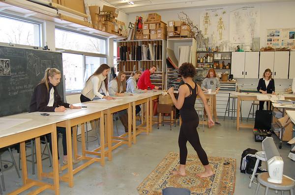 Drawing & Sculpture Class