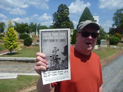 "05-20 - ""Tunes From The Tombs"" at Historic Oakland Cemetery - Atlanta, GA"
