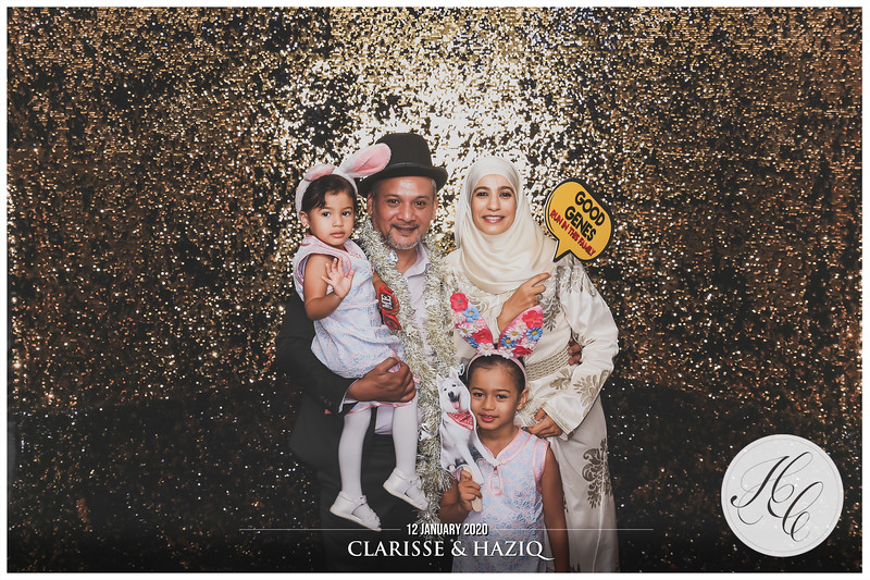 Wedding of Clarisse & Haziq | © www.SRSLYPhotobooth.sg