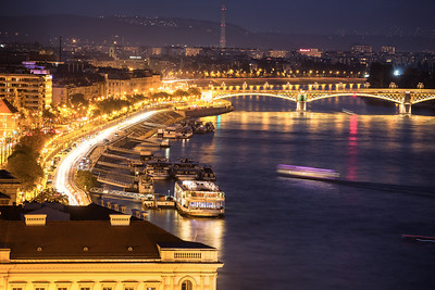 River Danube Budapest (night views)