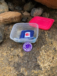 Geocache Trackable Launch