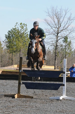 February 20-21, 2012 - Lauren Hough Clinic, Bridle Creek Farm, Aiken, South Carolina - Boyd Martin, Otis Barbotierre, Neville Bardos, Ying Yang Yo, William Coleman III, Ideal Contini, Phillip Dutton, Ben and William Penn