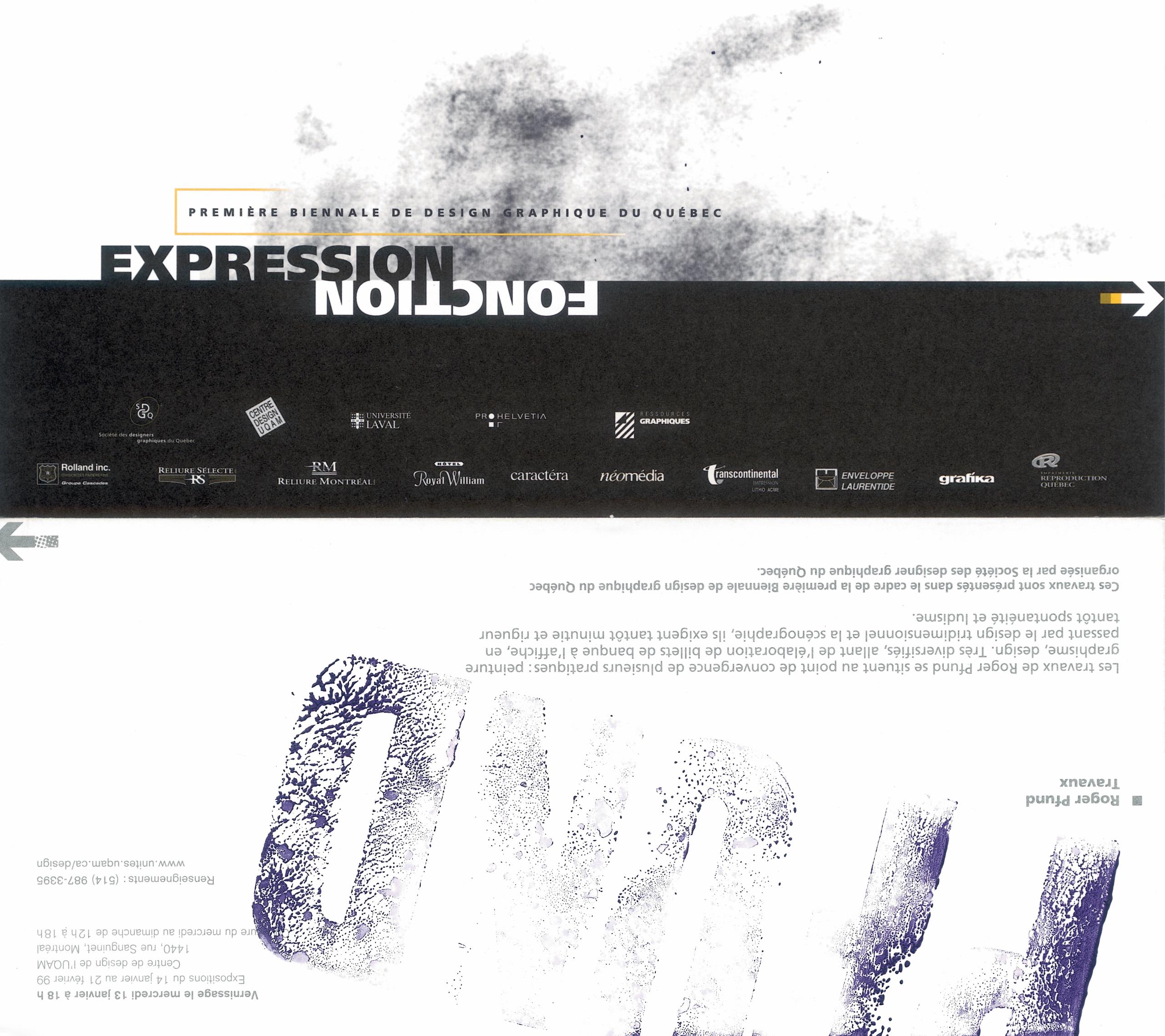1999 - Exposition - Rétrospective Roger Pfund Travaux