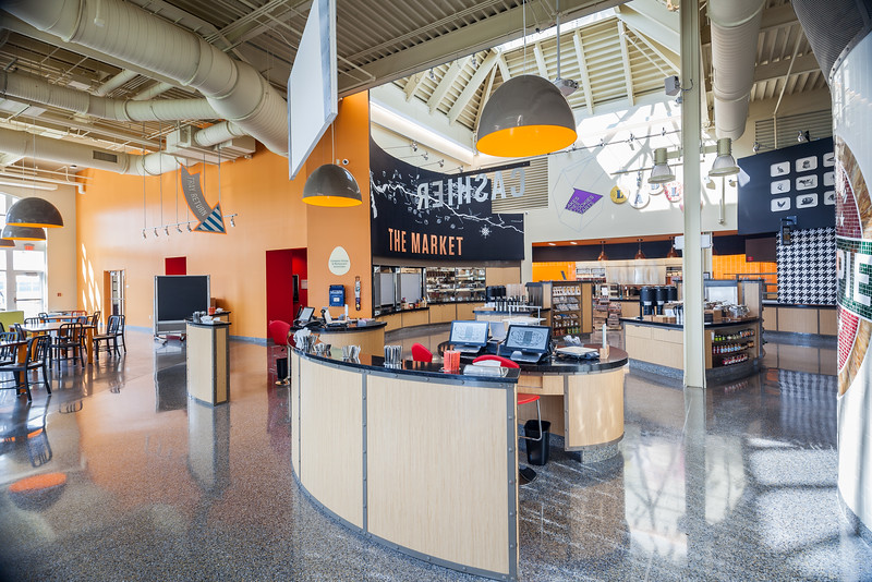 The Egg dining facility at The Student Commons in Hyde Park, NY.