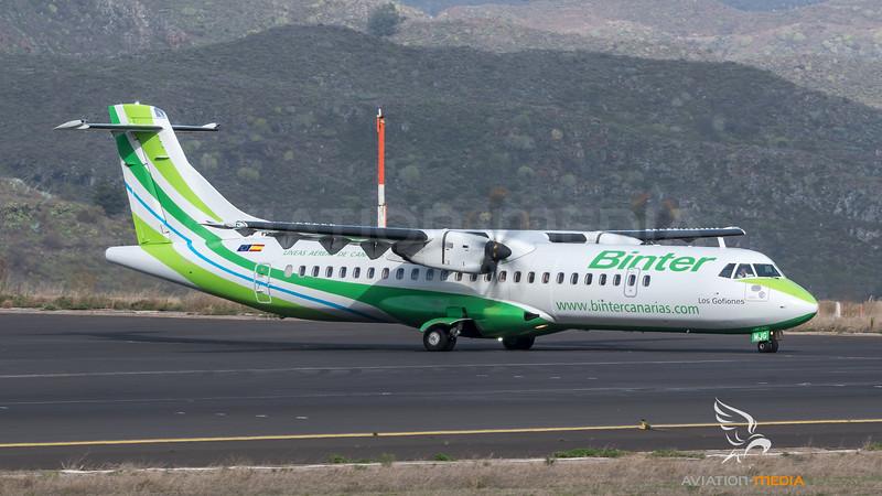 Binter Canarias / ATR 72-600 / EC-MJG