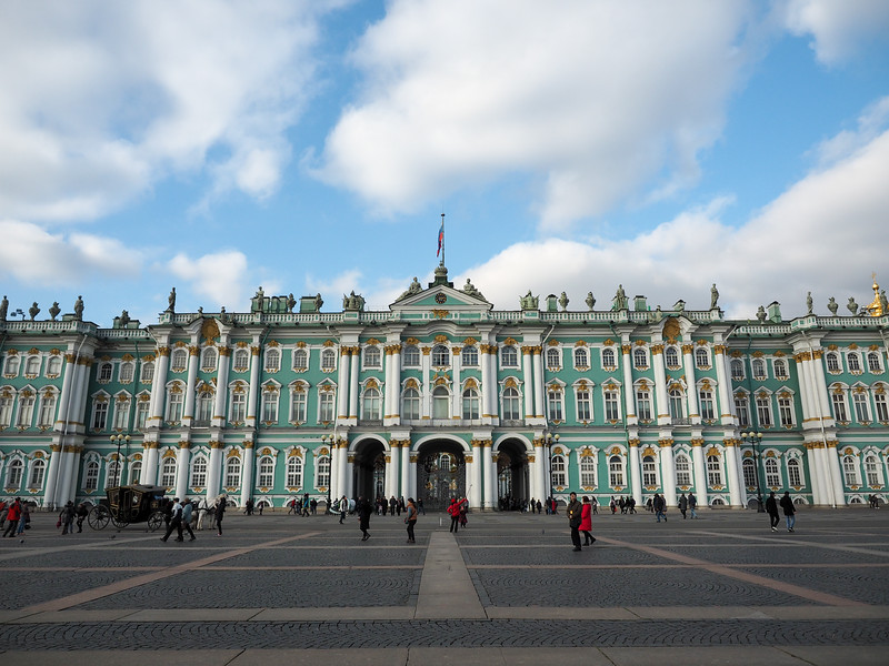 The Winter Palace in St. Petersburg, Russia