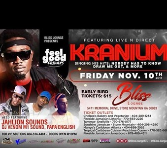 KRANIUM LIVE IN CONCERT @ BLISS LOUNGE