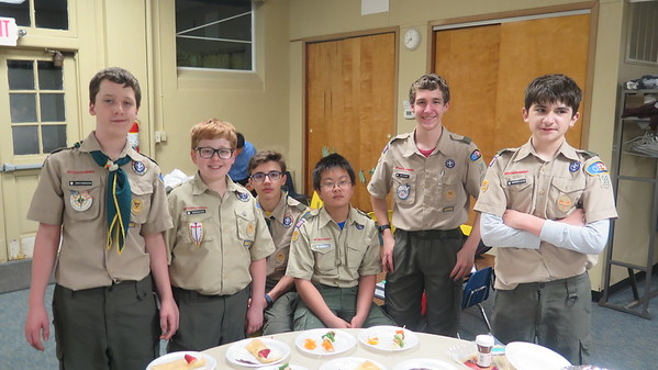 Iron Chef Troop Meeting 12April2019