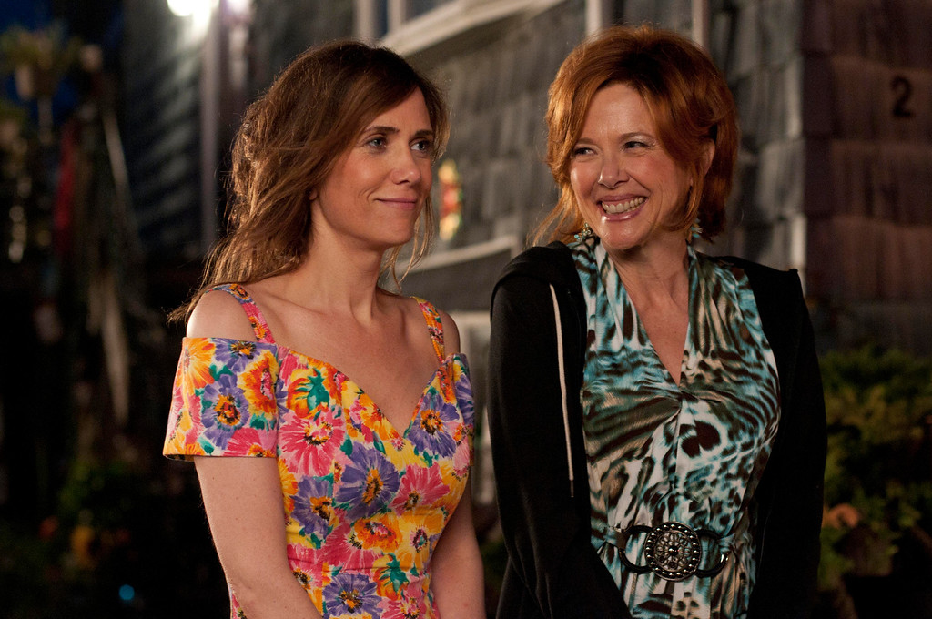 """. Left to right. Kriten Wiig as Imogene with Annette Bening, her mother in \""""Girl Most Likely.\"""" Provided by Roadside Attractions."""