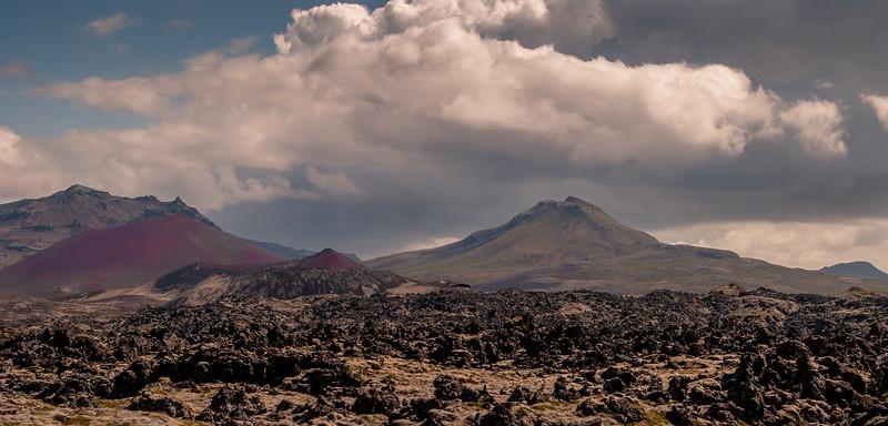 Old Vulcano's Lava Field