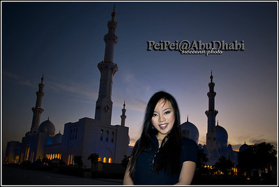 20101203 - PeiPei@Abu Dhabi