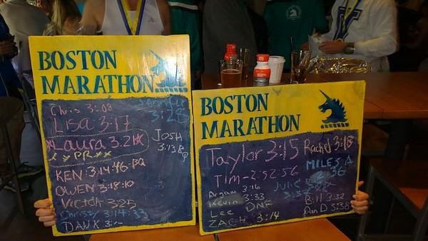 Boston Marathon - Trombatore