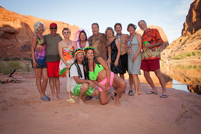 Friends at Lake Powell 2016