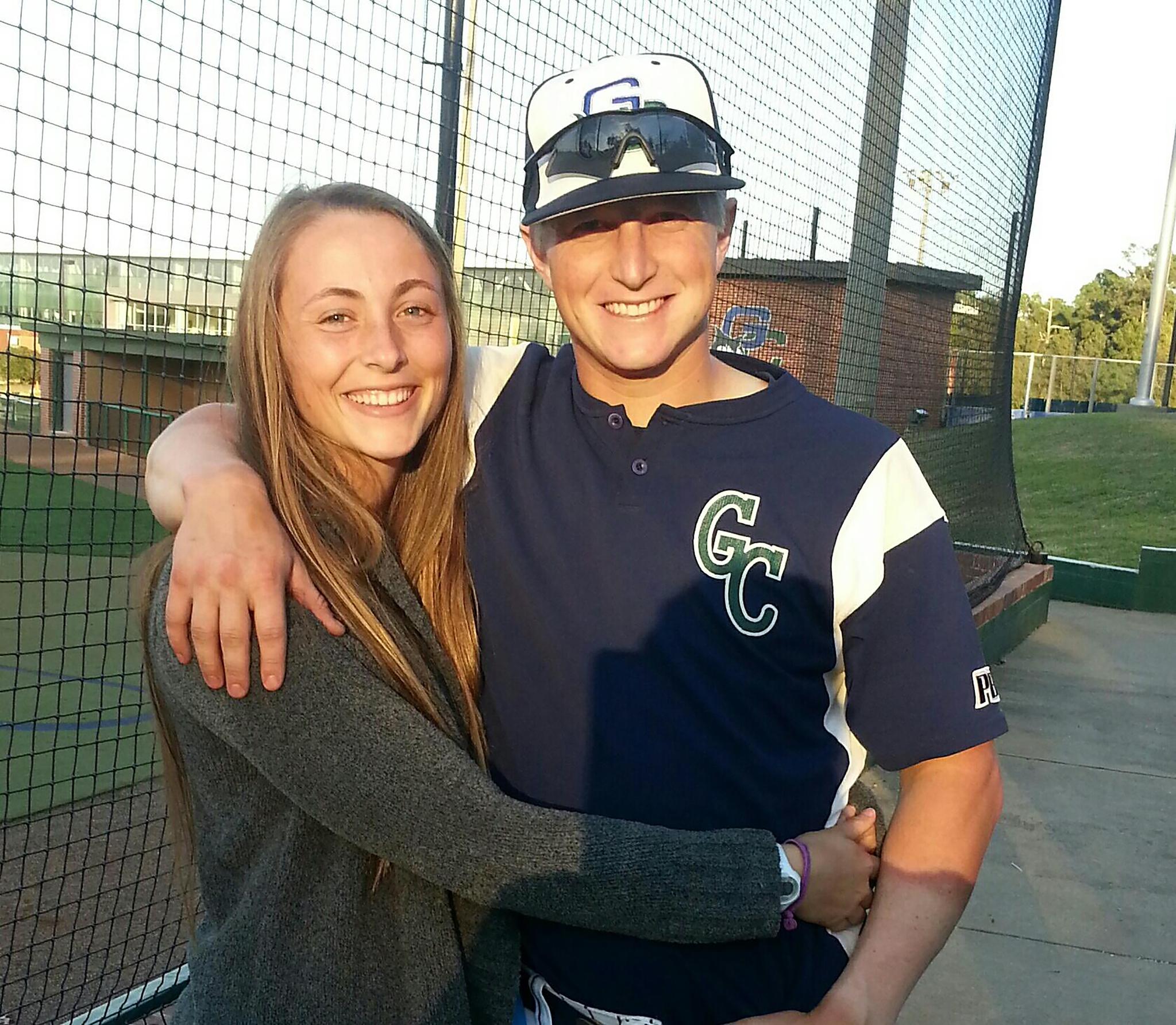 Former student-athletes Ashley and Steve Hazel