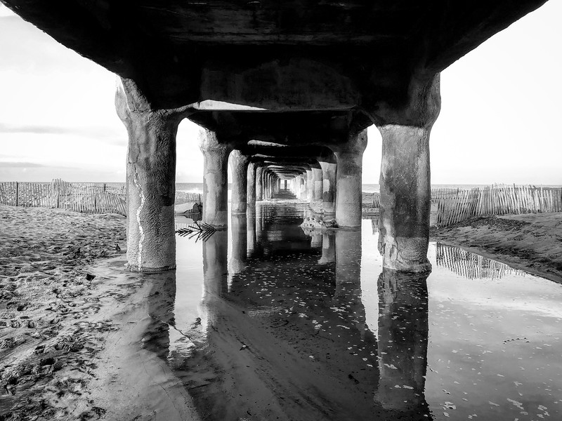 Under the Pier, after the rain