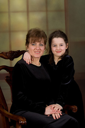 Mother & Daughter Glamour Shoot
