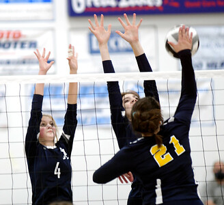 Wickliffe at St. John Volleyball Sept. 28, 2020