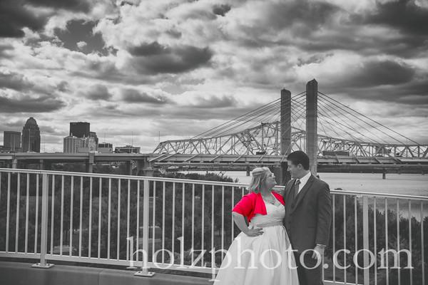 Lindsay & Ben Creative Wedding Photos