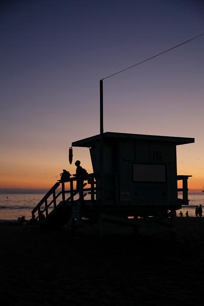 Bay Watch moment — at Santa Monica Pier.  1/80 sec @ ƒ/2.8 ISO 400 Canon 5D Mk III EF24-70mm ƒ/2.8L II USM