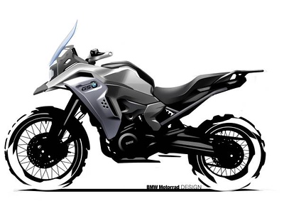 Photo Set - BMW F 850 GS Adventure. Design