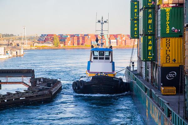 Tugboat to Alaska