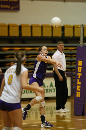 2008-10-25 Butler vs Ursuline Academy volleyball