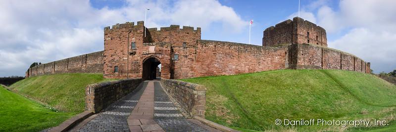 Carlisle Castle, Oban, Scotland - October 2017