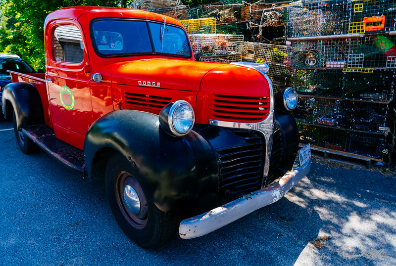 Ol Dodge pickup